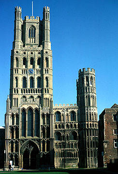 Religious Buildings. Click To Enlarge: Ely Cathedral, West Front