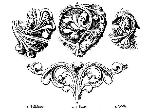 Click To Enlarge Stiffleaf Carving